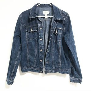 CK Calvin Klein. Denim button up jacket